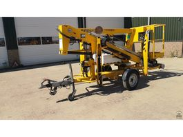 spider articulated boom lift Niftylift NL120T 2011