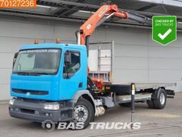 platform truck Renault Premium 270 4X2 Crane Kran Palfinger PK12000 2004