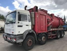 vacuum truck Renault G340TI 8X4 **32TONS-HYDROCUREUR-VACUUM TRUCK** 1995
