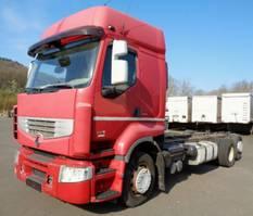 chassis cab truck Renault Premium 460.26 DXI 6x2 EEV VEB Lift-/Lenkachse 2011