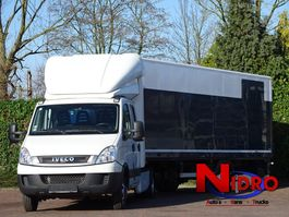 light duty tractor unit - lcv Iveco Daily 3.0 170PK Trekker + Oplegger met Laadklep BE LICENS 2011
