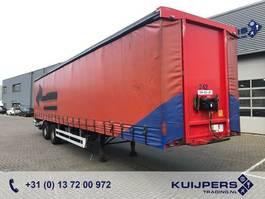 sliding curtain semi trailer Pacton Curtainsider / 2 Axle BPW DRUM / Steer-Axle / Loadlift 2000KG 2008