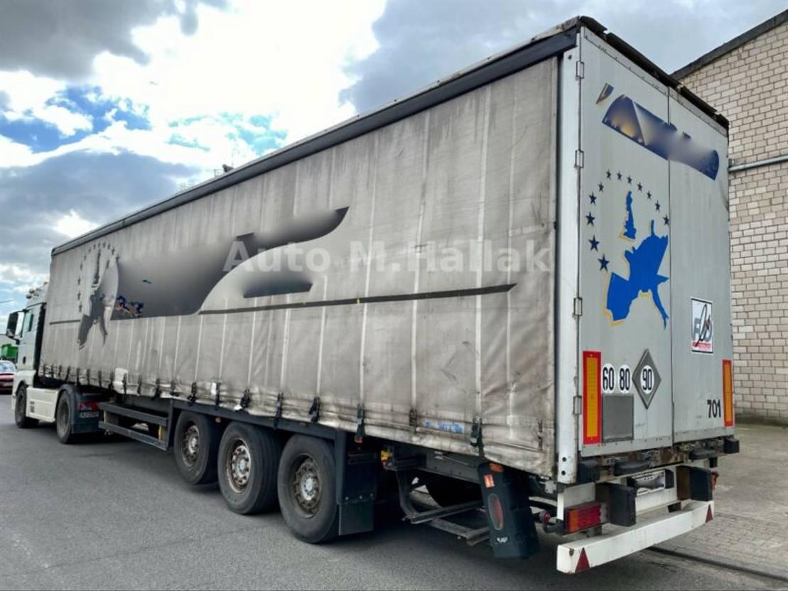 Schiebeplanenauflieger Schmitz Cargobull SCS 24 Standard Tautliner / Liftachse /Edscha