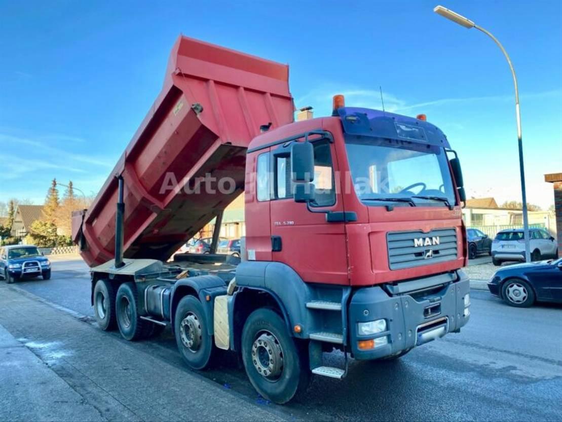 LKW Kipper > 7.5 t MAN TGS 35.390 BB 8x4 Muldenkipper 22m2
