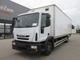 closed box truck > 7.5 t Iveco ML140E18 Manual Gearbox full steel 2012