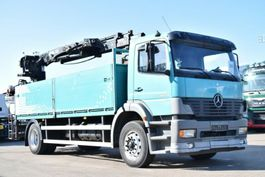 crane truck Mercedes-Benz Atego 1828 Baustoff Hiab XS133 Tacho Analog 2004