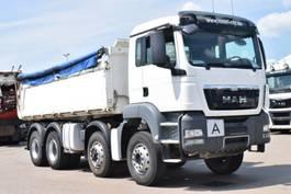 tipper truck > 7.5 t MAN TGS 35.400 8x6 Hydrodrive Meiller 3Seiten 2013