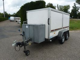 closed box car trailer Hapert K....gesloten marktwagen 2011