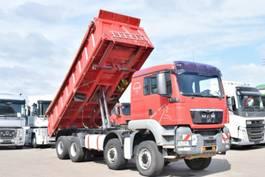 tipper truck > 7.5 t MAN TGS 35.400 8x6 BB Meiller 3Seiten Kipper Schalt 2008
