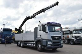 Kranwagen MAN TGS 26.480 6x2 Baustoff Atlas 135.2V