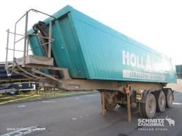 tipper semi trailer Meiller Kipper Alu kasten 25m³ 2006