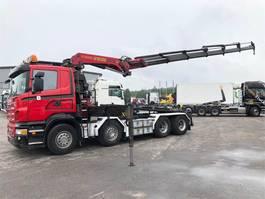 crane truck Scania R500 8x4 2008
