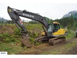 crawler excavator Volvo EC210CL Excavator with tilt and 2 buckets WATCH VI 2008