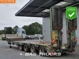 lowloader semi trailer Goldhofer STZ-L4-44/80 Liftachse 4x Lenkachse 2009