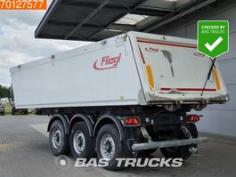 tipper semi trailer Fliegl SDS01 25m3 Alu Kipper Liftachse 2018
