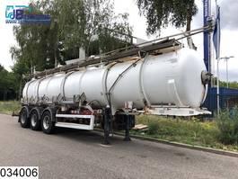 Tankauflieger Auflieger Guhur Chemie 25488 liter, 5 compartments, Max 4 bar,  50c 2001