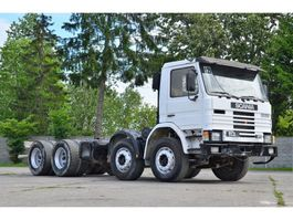 chassis cab truck Scania 113H 310 chassis 8x4 1990 1990