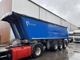 tipper semi trailer Meiller KISA3, SAF, 26 m³, elekt. Plane 2016
