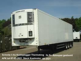 refrigerated semi trailer Schmitz Cargobull SK024 Schmitz 3 As Koeloplegger Thermoking SL2 50 + Naloopas gestuurd 2004