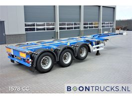 container chassis semi trailer Pacton T3-010   20-30-40-45ft HC * MULTI CHASSIS 2008