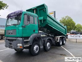 tipper truck > 7.5 t MAN TGA 35.430 8X8 - MANUAL - FULL STEEL - BIG AXLES 2005