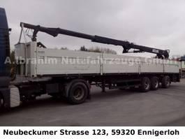 naczepa z nadwoziem burtowym Schmitz Cargobull Lenk- Liftachse kpl. mit Drehservo und Zange