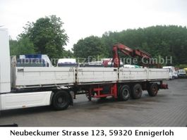 drop side semi trailer Ackermann PS 24/12,5 E mit MKG 150
