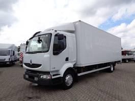 closed box truck > 7.5 t Renault Midlum 240 DXI + Manual + Dhollandia Lift 2008