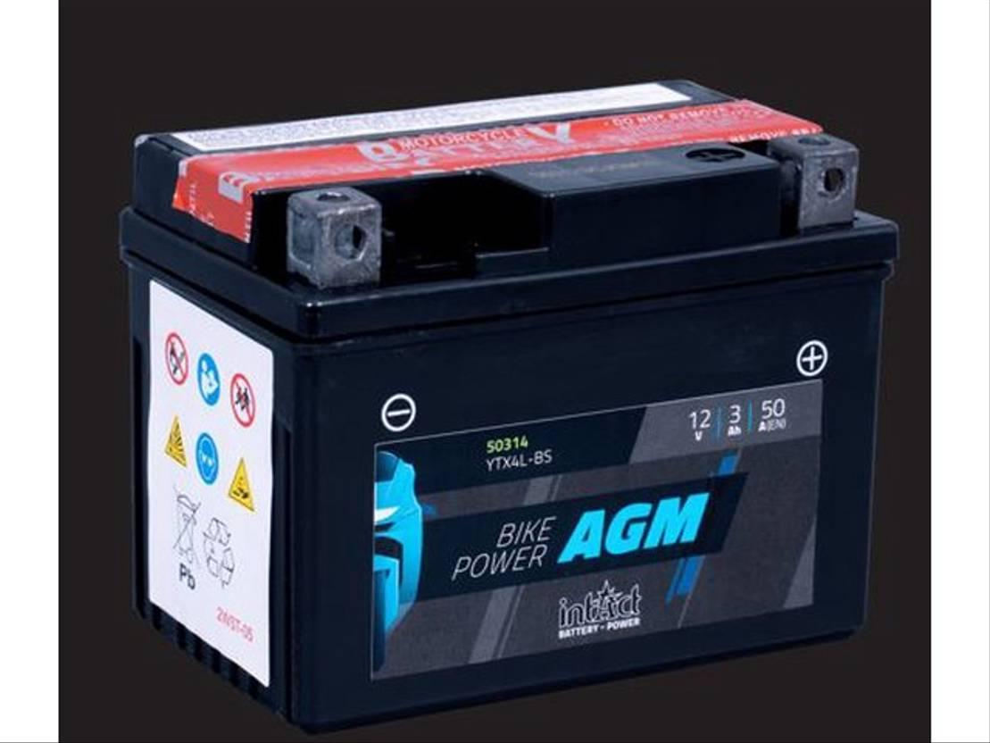 accu motorcycle part Diversen Batterij 12V 3AH (c20) 50A (EN) 50314