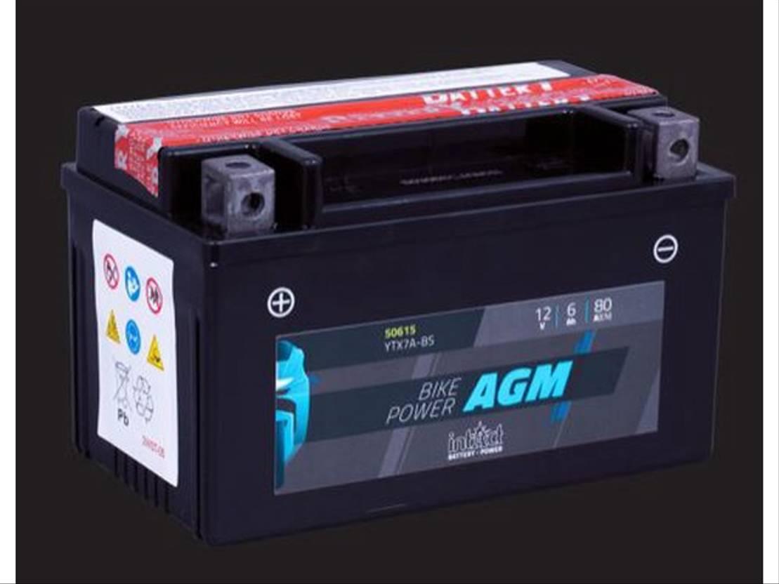 accu motorcycle part Diversen Batterij 12V 6AH (c20) 80A (EN) 50615