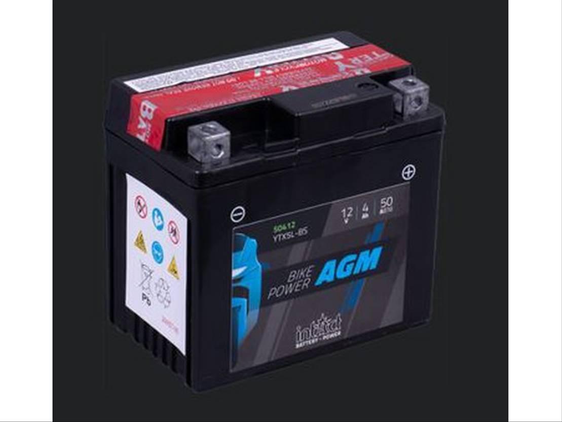 accu motorcycle part Diversen Batterij 12V 4AH (c20) 50A (EN) 50412