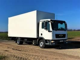 closed box truck > 7.5 t MAN TGL 8.180 ** MAN €19000 NETTO! ** 2010