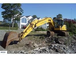 crawler excavator Komatsu PC180LC-7K Excavator with few hours and 3 buckets 2006