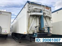 tipper semi trailer Benalu 86 cub in alu 1999