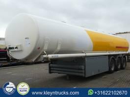 tank semi trailer semi trailer Lag FUEL 42.000 LITER CO 5 compartments 2004