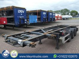 container chassis semi trailer Wielton 20-30FT ADR 2008