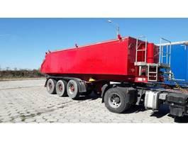 tipper semi trailer Langendorf 7 UNITS  - SKA 24/29 Thermo-mulda 25m3 for bitumen 2008