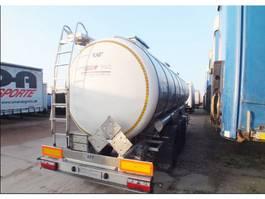 tank trailer Lag 0-3-T / 3-chamber tank cistern / ADR / 33,000L / Axles BPW / Lik 2017