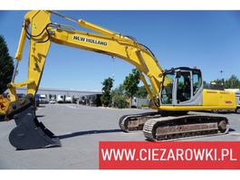 crawler excavator New Holland E385B , 37T , quick-coupler  ,  track 600mm , ac 2011