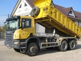 tipper truck > 7.5 t Scania 6x6 P340 3 SIDED TIPPER 2008