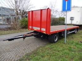 drop side full trailer Burg BPA 09-09 SRNXX 2 As Vrachtwagen Aanhangwagen Open, WP-DR-01 2004