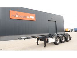 container chassis semi trailer Lag 20FT/3-Achsen, Leergewicht: 3.160kg, BPW, ADR (EXII, EXII, FL, OX, AT), ... 2015