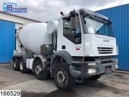 concrete mixer truck Iveco Trakker 380 8x4, Cifa mixer, 9 M3, Manual, Steel suspension, Airco 2006