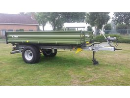 drop side full trailer Fliegl EDK 60 kipper