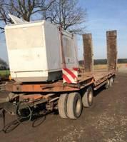 lowloader trailer Goldhofer TU 4 -2X2-31/80 , 4 -Achser ,hydr.Rampen 1992
