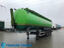 feed semi trailer Feldbinder , Electric hydraulic tip 1998