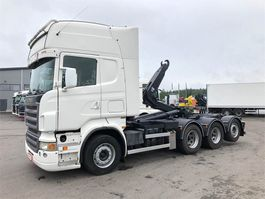 container truck Scania R500 8x4 multilift koukku 2005