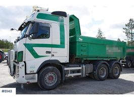tipper truck > 7.5 t Volvo FH700 6x4 combination with only 365,500 km 2011