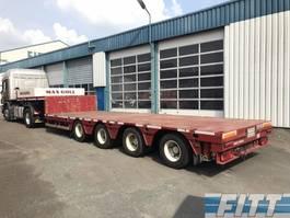 semi lowloader semi trailer ES-GE 2x 4ass semi dieplader, 5mtr uitschuifbaar - 285 2009