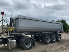 tipper semi trailer Langendorf SKS-HS Steal 25m³ / Leasing 2019